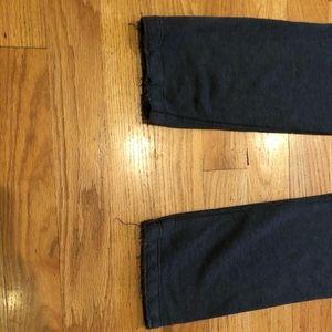 Abercrombie & Fitch Pants - ABERCROMBIE & FITCH Gray Varsity Sweatpants Sz Sm